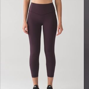 New LULULEMON All the Right Places Black Cherry 10